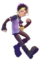 Yugi's boots by hibbary