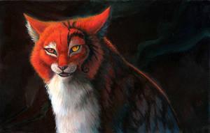 Cat painting WIP