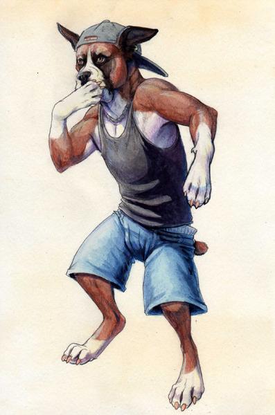 Beat Boxer by hibbary