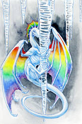 ice dragon by hibbary