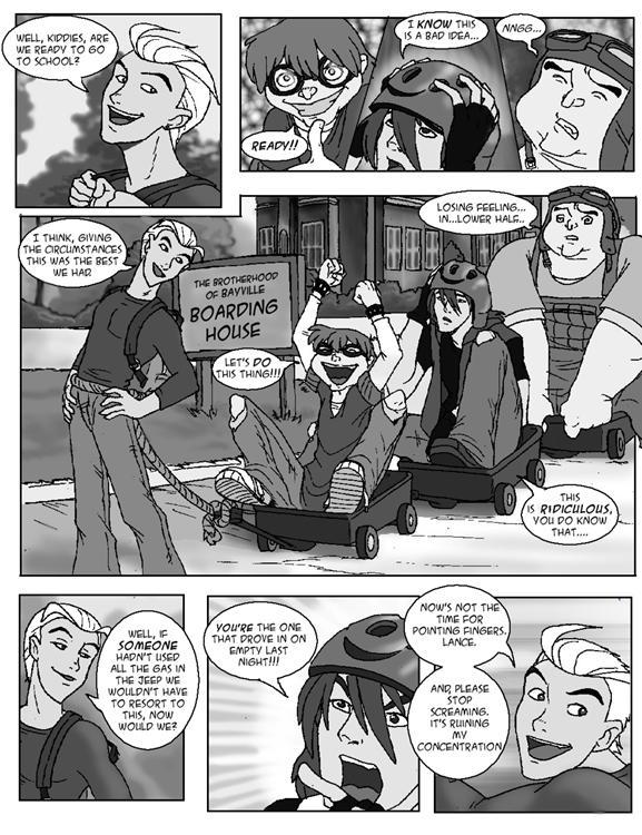 brotherhood comic page 1 by hibbary
