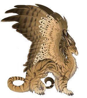 classic tabby dragon