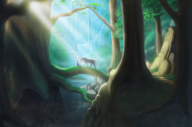 Forest foraging ground