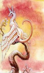Felis Draconis by hibbary