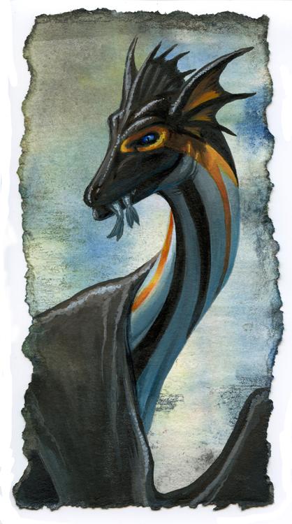 Common Sea Dragon by hibbary
