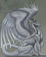 slatey dragon by hibbary