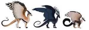 3 dragons