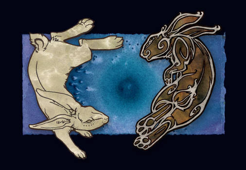 Rabbit and Spirit Rabbit