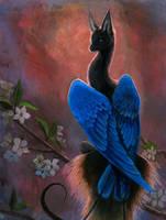 azure dragon by hibbary