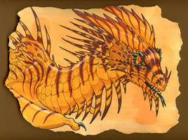 Lionfish Dragon by hibbary
