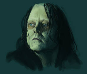 Grima Wormtongue by hibbary
