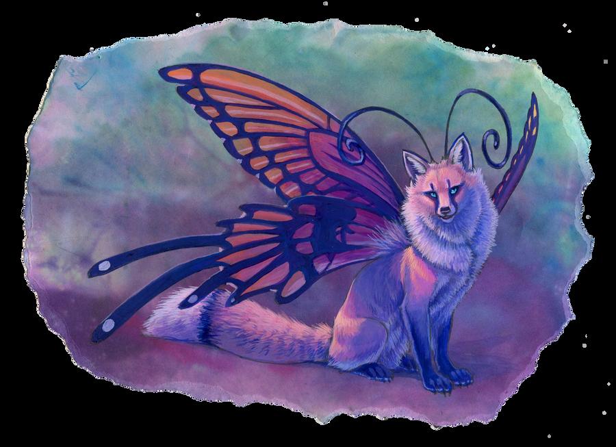 Faerie Fox by hibbary