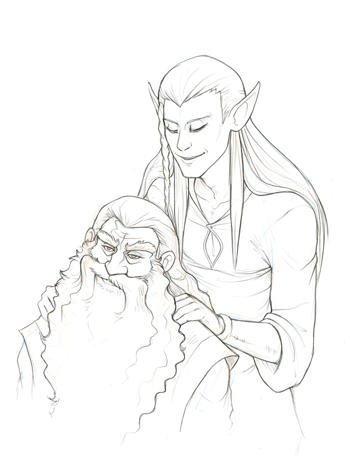 I don't trust elvish massages by hibbary