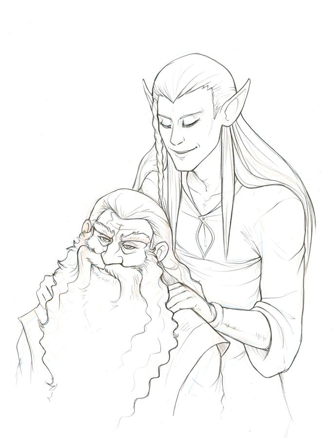 I don't trust elvish massages by hibbary