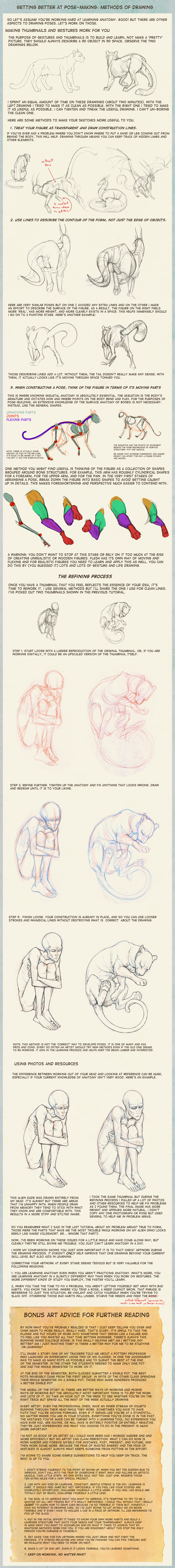 Poses: methods of drawing by hibbary