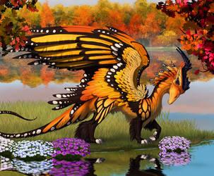 Monarch by hibbary