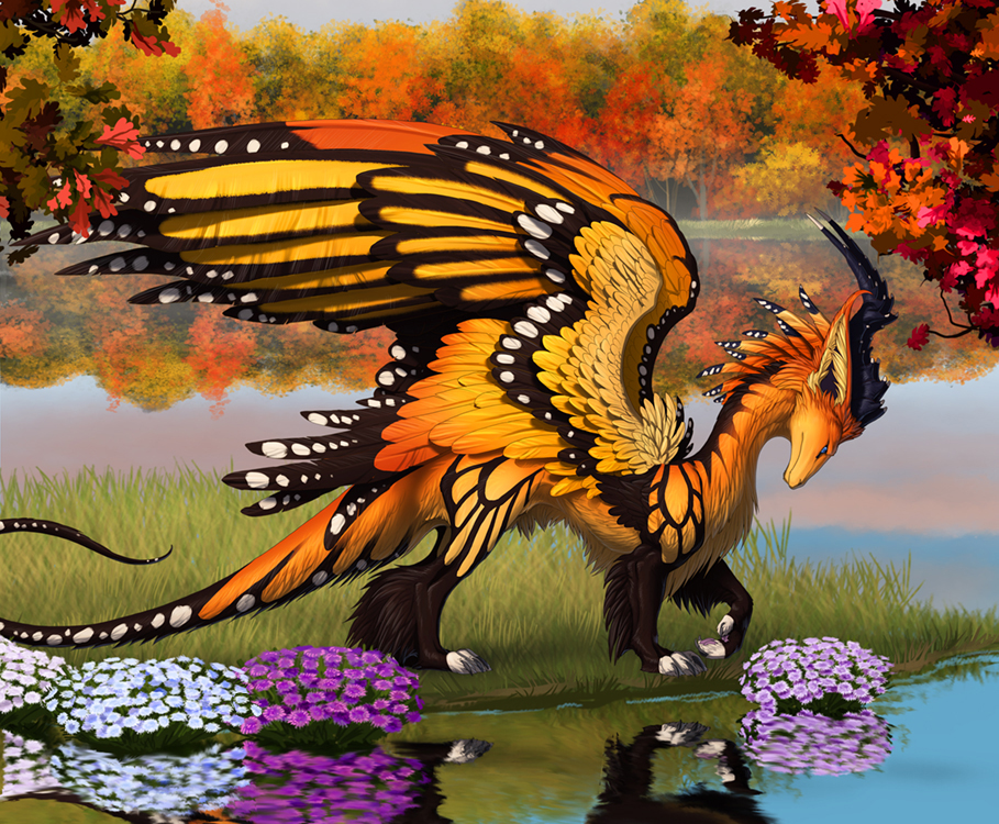 Fantasy butterfly wings - photo#39