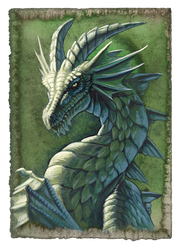 Green Dragon by hibbary