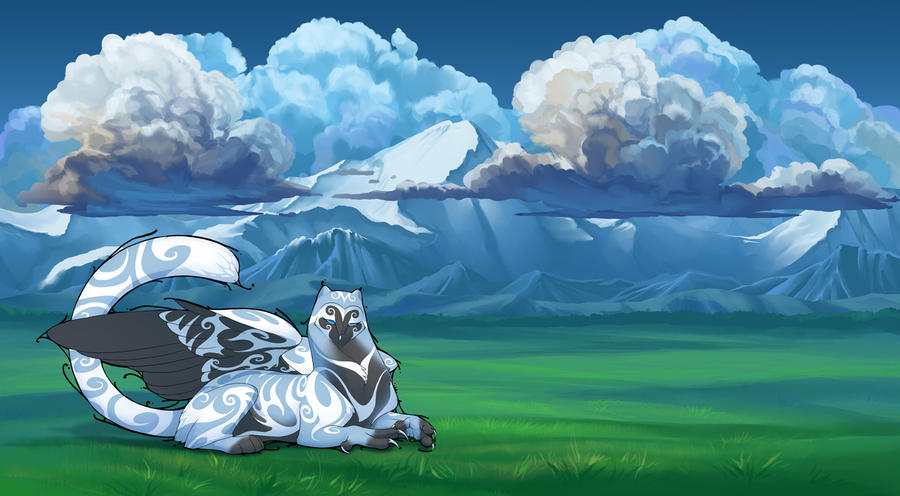 Meadow Environment by hibbary