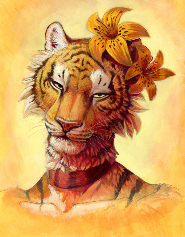 Tiger Lily by hibbary