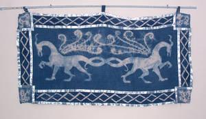 Dragon wallhanging by hibbary