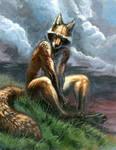 half raccoon, half fox, all trouble