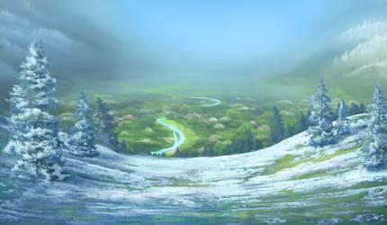 Valley Spring by hibbary
