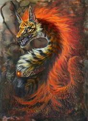 Dragonfire by hibbary