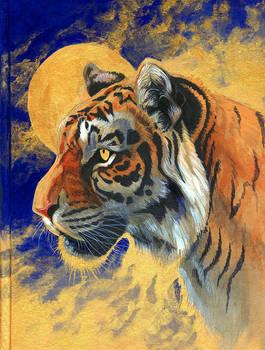 Tiger Sketchbook Cover