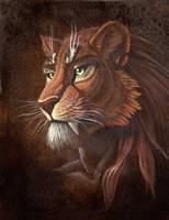 Prehistoric Portrait by hibbary