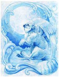 Blue Winter by hibbary