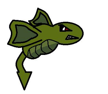 Fakemon: Dragon Bug by CadenTheGreat
