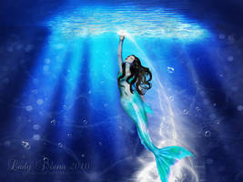 Curious Mermaid by Susaleena