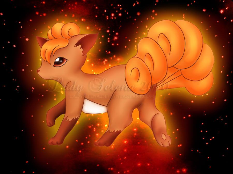 Vulpix Human Boy Luna when glowing   I will