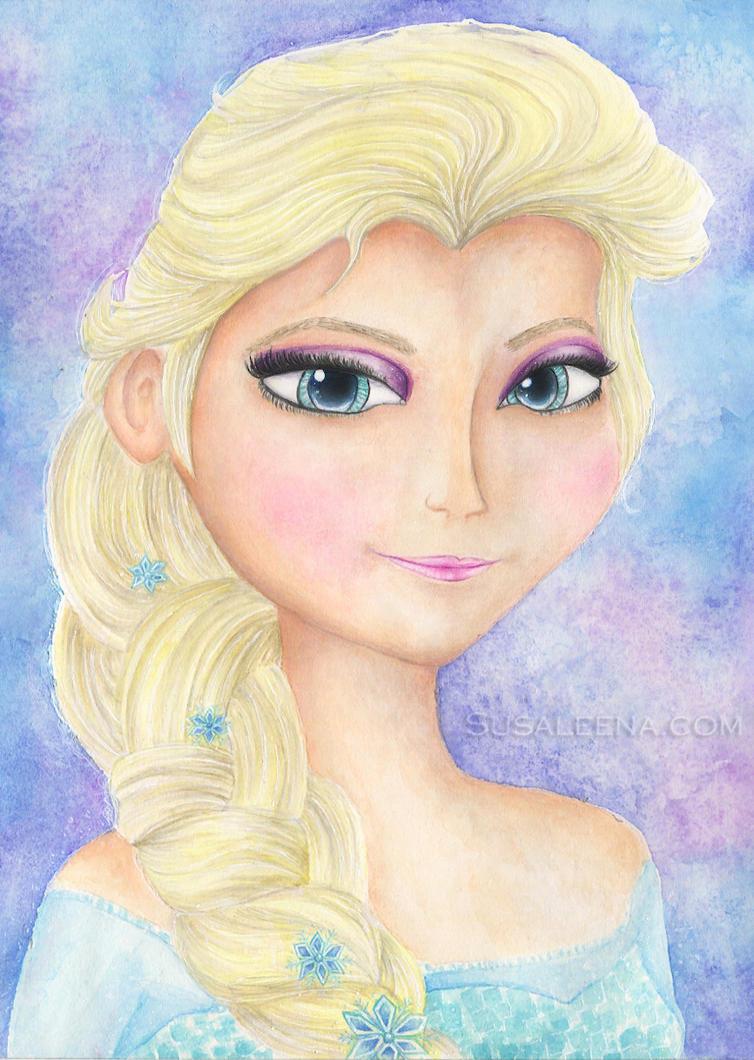 Elsa - Frozen by Susaleena