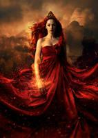Queen Elemental: Fire by masKade