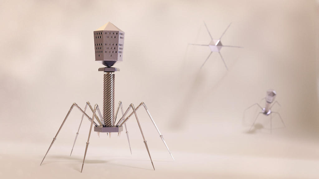 Mechanical virus by Tellurian84