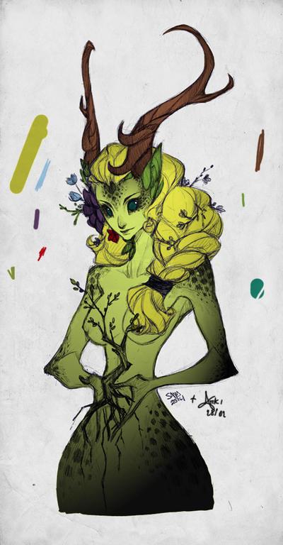 Ooneithoo Colorized. by Arkimennes