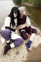 Orochimaru and Kabuto cosplay by InrasTEO