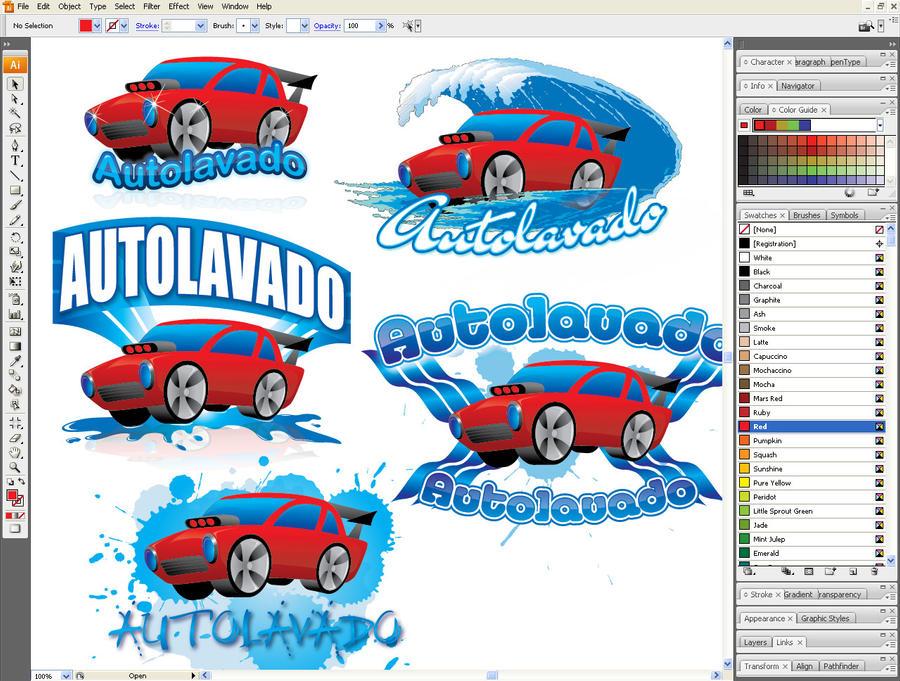 Autolavado Logo WIP4 by jorgesarcos
