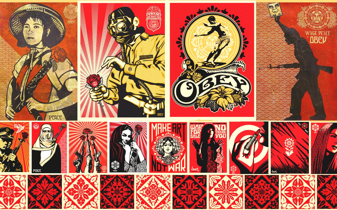 Obey Wallpaper by Kamikazeazn
