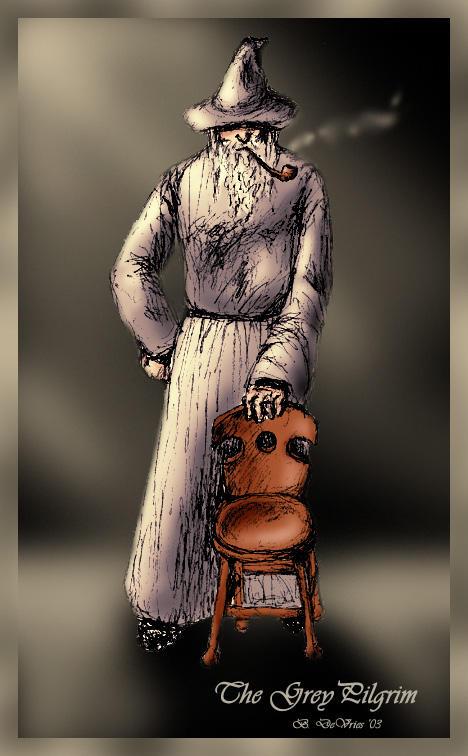 gandalf and a hobbit chair by bdevries on deviantart