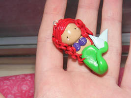 Ariel,The little mermaid charm by HopieNoelle