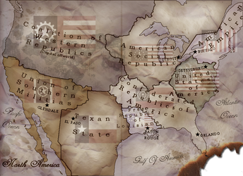 North America in the 28th Century by RvBOMally