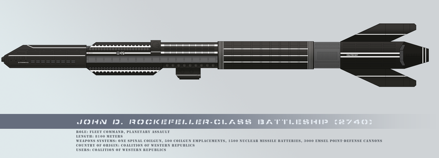 John D. Rockefeller-class battleship by RvBOMally