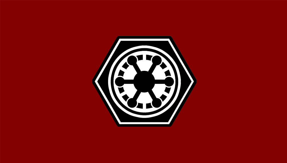 Flag Of The Galactic Empire New By Rvbomally On Deviantart