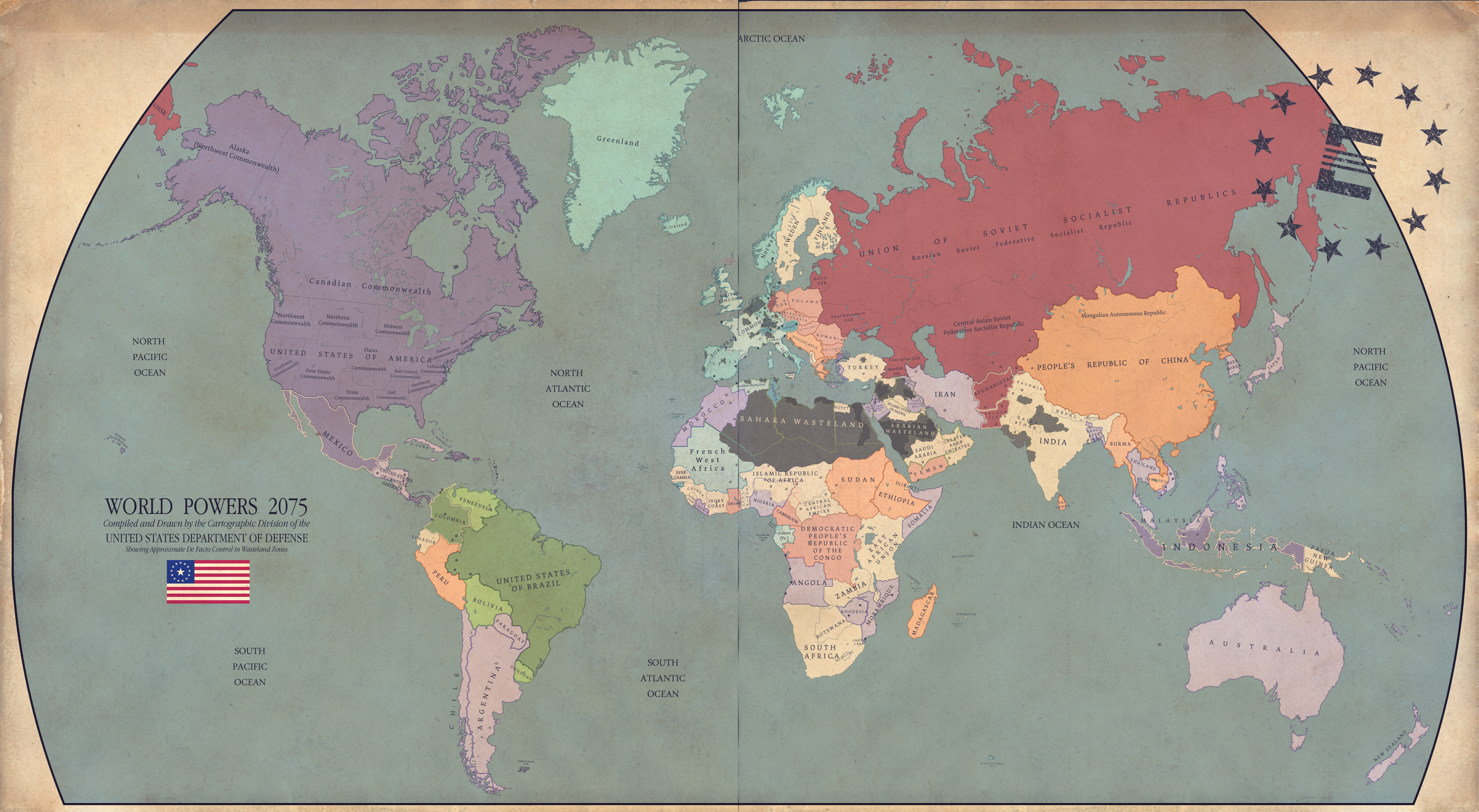 War Never Changes By RvBOMally On DeviantArt - Fallout game map of us