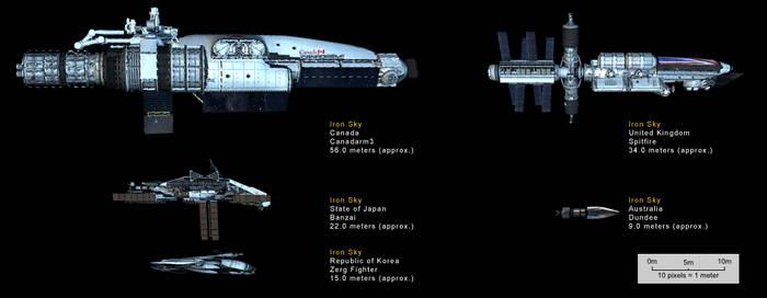 Iron Sky Spacecraft
