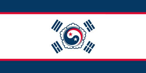 Flag of the Choson Republic