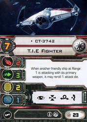 [X-Wing] T.I.E Fighter CT-3742 by RvBOMally